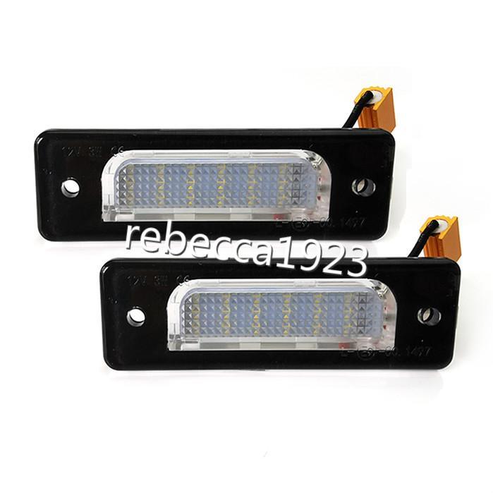 la matrícula del LED de coches Lámparas para BMW Serie 5 E34 E32 Serie 7 Número del precio de fábrica llevó la luz de la placa 12V 6000K
