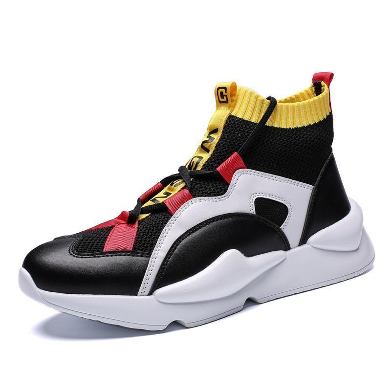 Para hombre otoño invierno zapatillas de deporte del top del alto calza los zapatos de los hombres ocasionales de los hombres ocasionales de zapatos para hombre de Productos de Moda ZapatosL14