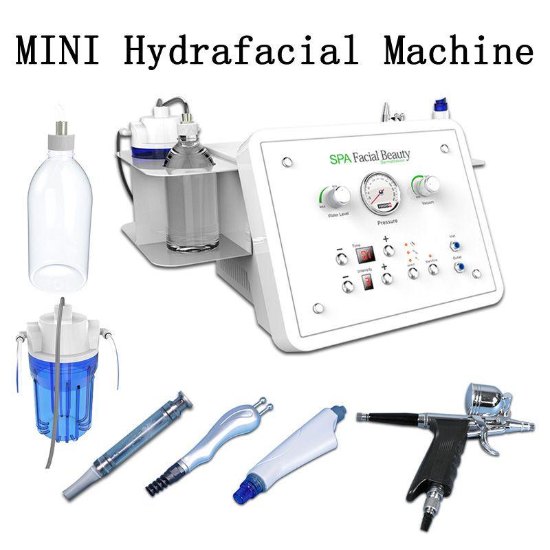 Hydra máquina facial 4 in1 profesional hidro diamante dermoabrasión peeling facial cuidado de la piel agua microdermabrasión máquina