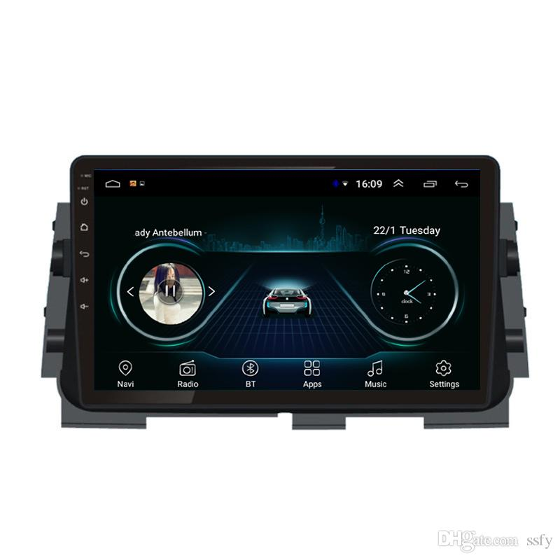 Android car radio with precise GPS navigation free map excellent bluetooth microphone music auto stereo for Nissan kicks march 9inch