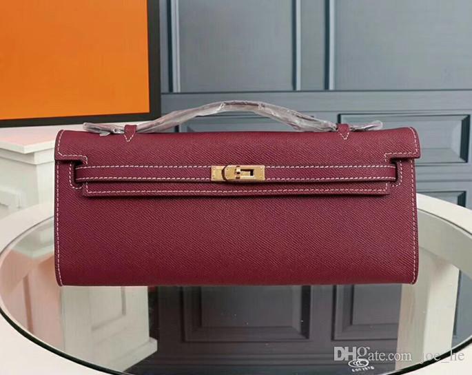Дизайнер - сумочка сумочка сцепления сумка женщина кожаный платиновый кошелек коровьей мессенджером Freephip мешок кошелек банкетные сумки Black Designer Lady FFSW