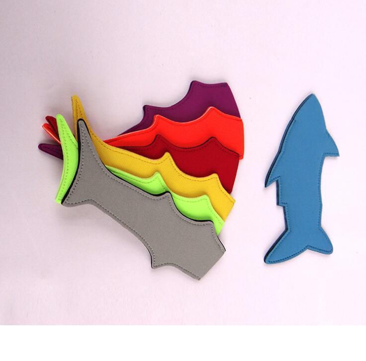 Los titulares de helado lindo del tiburón de impresión sublimada Herramientas Congelador Pop Popsicle mangas de verano de los cabritos del lirio de cocina DHL libre especial 333