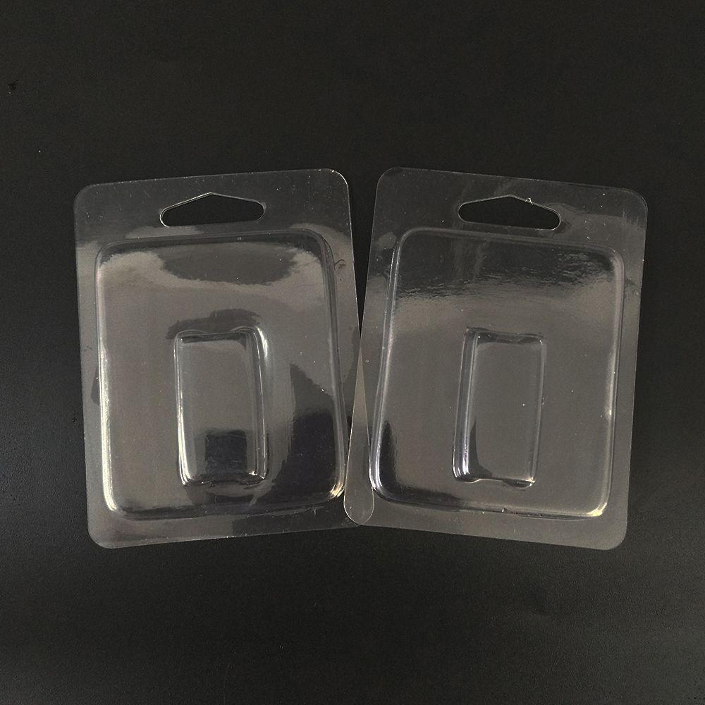 Clear Blister Packaging Vapor Pod Packaging Container in plastica per JUUL Clam Shell Portable Vape Starter Kit per JUUL Pod