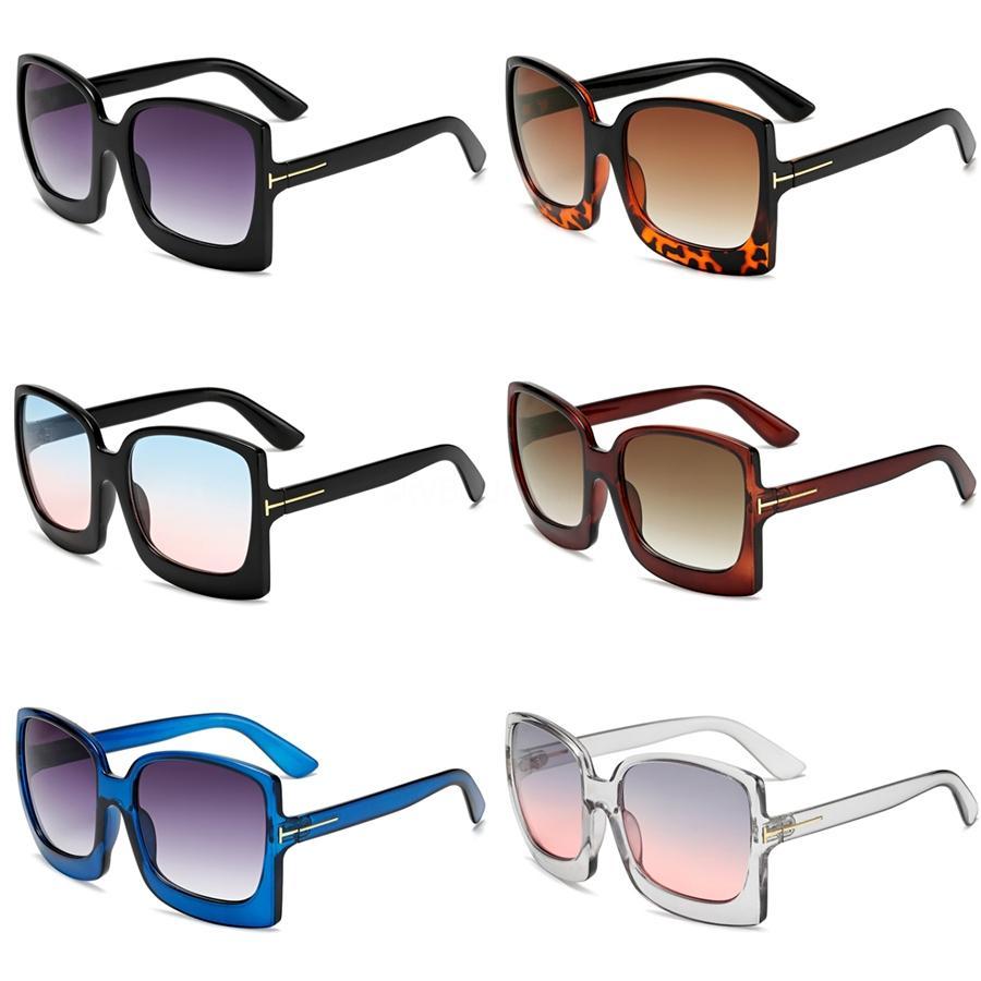 Vintage Yuvarlak Büyük Boy Lens Ayna Marka Pembe Güneş Lady Soğuk Retro UV400 Kadınlar Güneş Gözlükleri Kadın Kqw123 # 27528