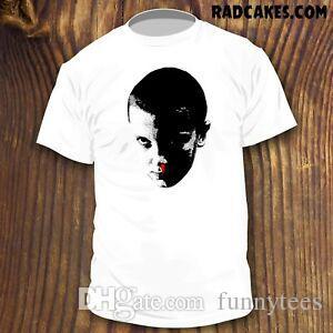 STFunnyR COSE ELEVEN shirt design fan art 11 Stagione 3 Demogorgone in vendita NUOVO