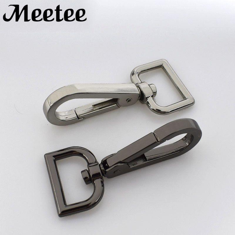 Meetee Metal Buckles Hanger Lobster Clasps Twist Trigger Clips Snap Hook For Handbag DIY Craft Luggage Hardware Accessories