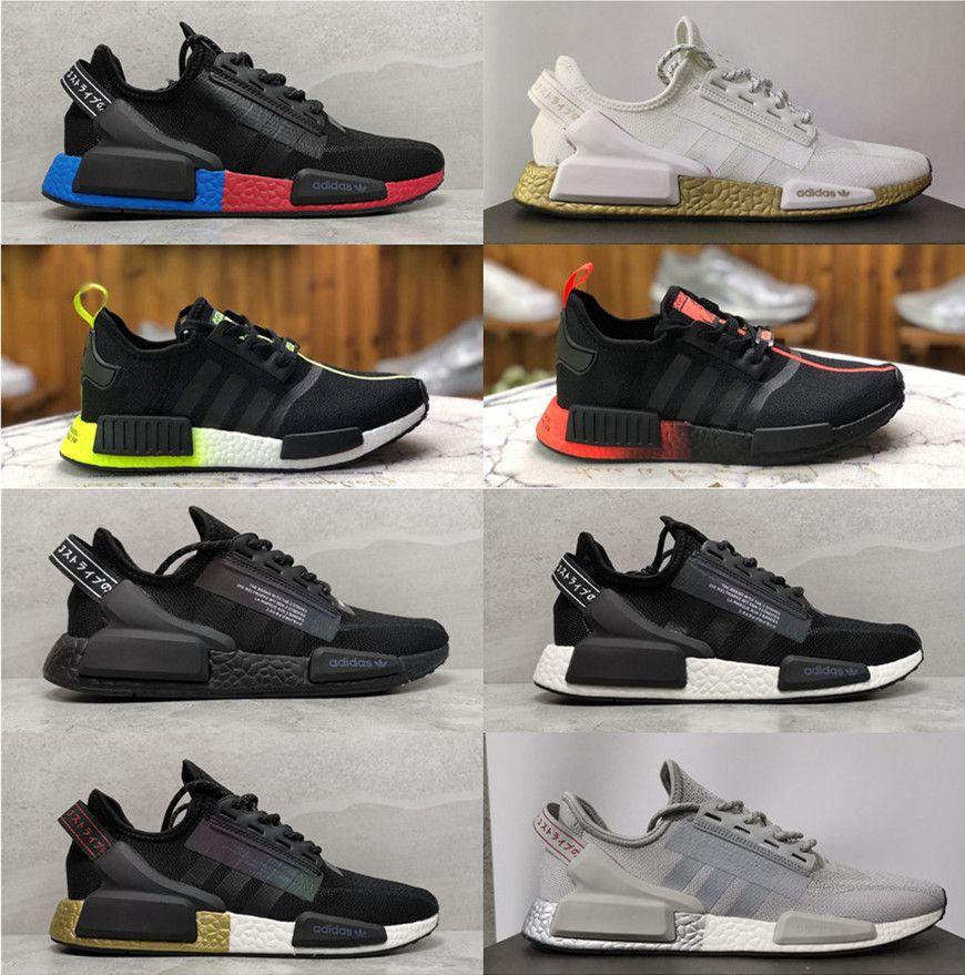 Triple Black Adidas NMD XR2 | Sneakers men, Running shoes