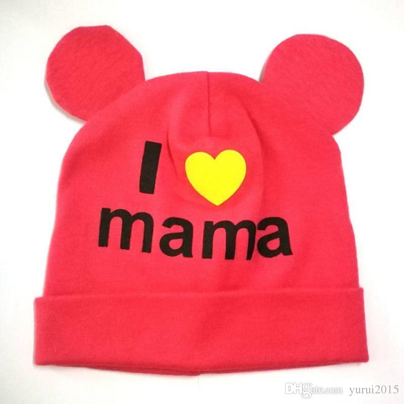 Baby Girls Boy Winter Warm Hats Cat Ear Caps Kids Knitted Caps Beanies Children'S Cute Cartoon Embroidered Knit Hat