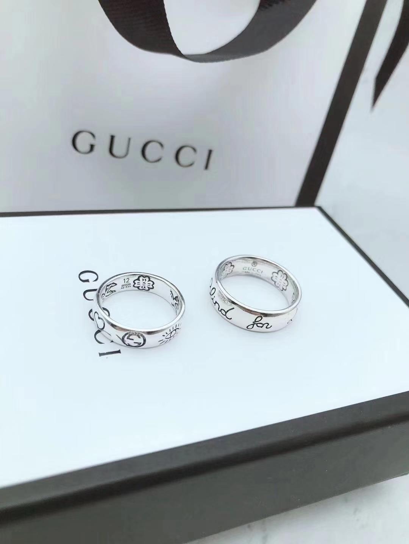 Top Luxuxentwurf Höchste Version des gestanzten kompletten Ring Lieb Fearless Paares Ring 925 Sterlingsilber-Ring Modeschmuck