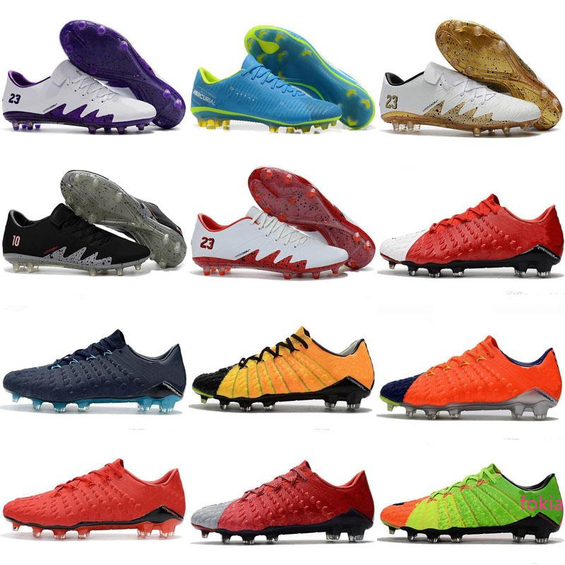 New Hypervenom Phantom III Mens soccer shoes Russia world football low top authentic Special sneakers size 39-45