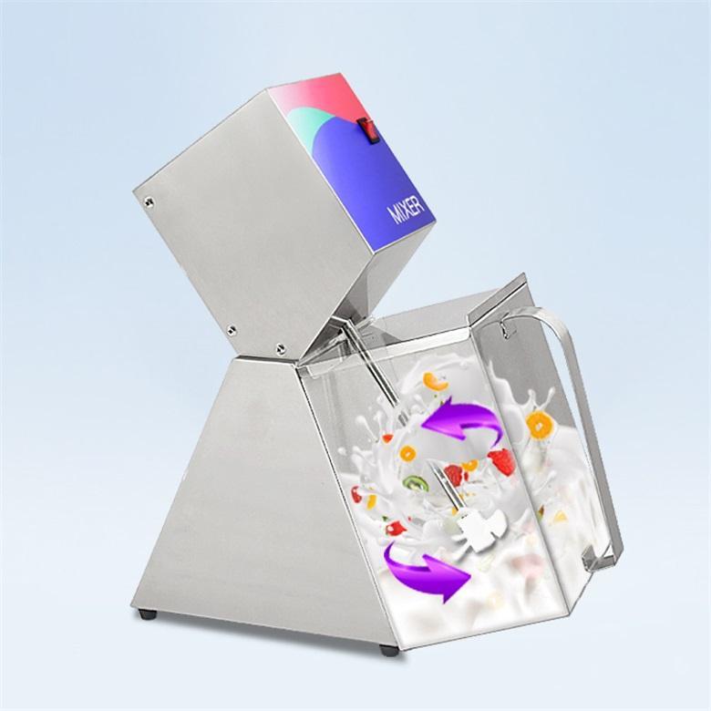 Kolice Comercial automática suavemente duro hielo mezclador de crema de helado / mezcladores / trituradora de frutas / polo de hielo mezcla de la máquina de mezcla