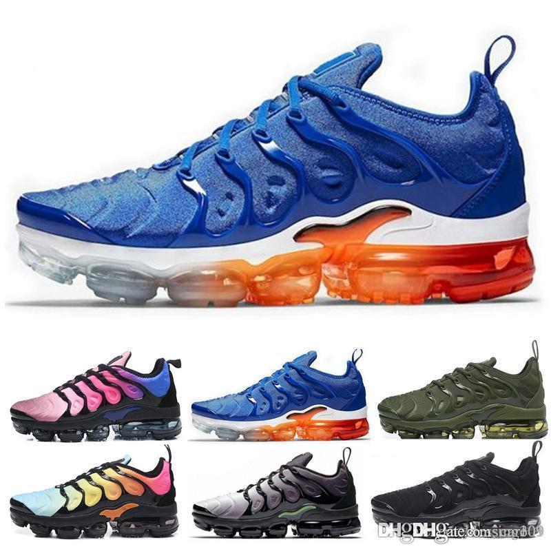 2019 New Chaussures TN Plus Ultra Silver Traderjoes Running Shoes Colorways Male Pack Sports Tns Mens Trainers air Designer Sneakers