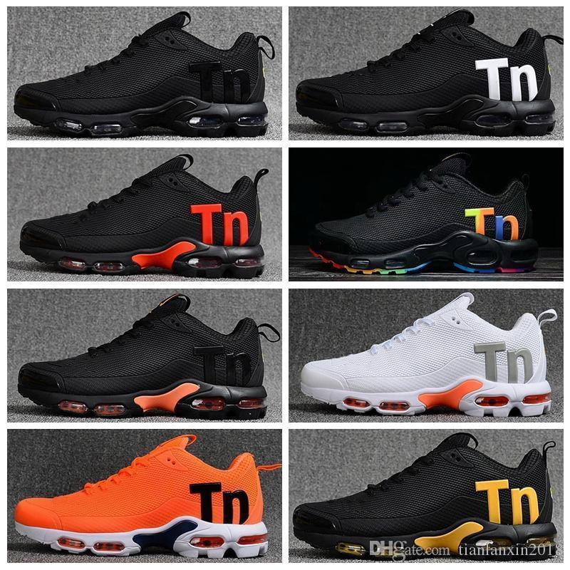 New Run Mens женщин кроссовки моды TN PLUS Тройной Черный Белый Синий Золото Легкий дышащий Дизайнерские Спортивная обувь Размер 40-46