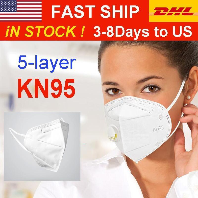 Auf Lager! DHL-freies Verschiffen-Maske Anti-fog PM2.5-Gesichtsmasken Filter Staubdichtes Particulate Atemschutzmaske
