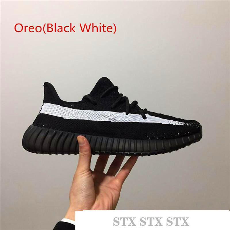 Designer Shoes Kanye West Cinder Fanale posteriore Zebra V2 Scarpe da corsa Yecheil Nero Statico riflettente Uomini Donne Designer Shoes Sneakers D5