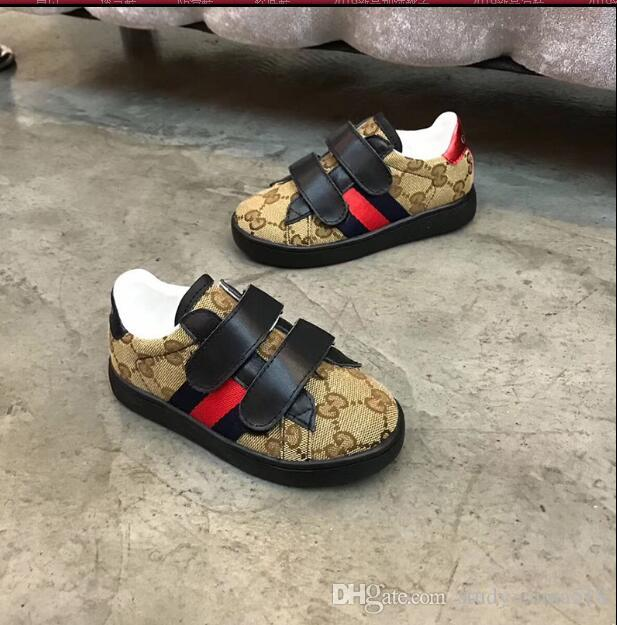 2019 новая детская спортивная обувь волшебный мелкий маленький новый толстый нижний чистый красный мальчиков и девочек A2