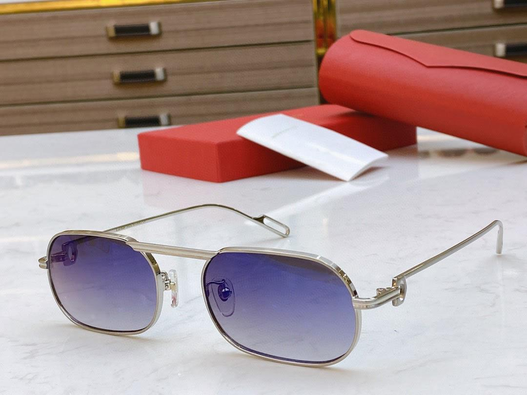 무료 배송 최고 품질 여성의 선글라스 0112 안경 케이스 상자 남여 패션 금속 태양 안경 운전 안경 C 장식과 함께