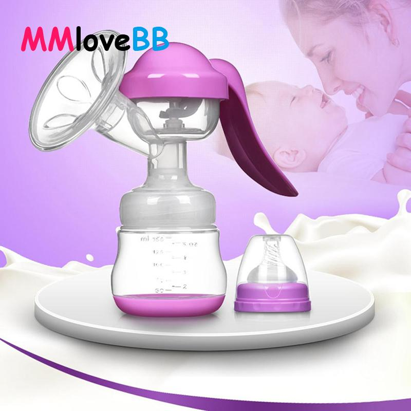 Laktation Babyernährung Handmilchpumpe Partner Breast Collector Automatische Korrektur Breast Milk Extractor Pumps