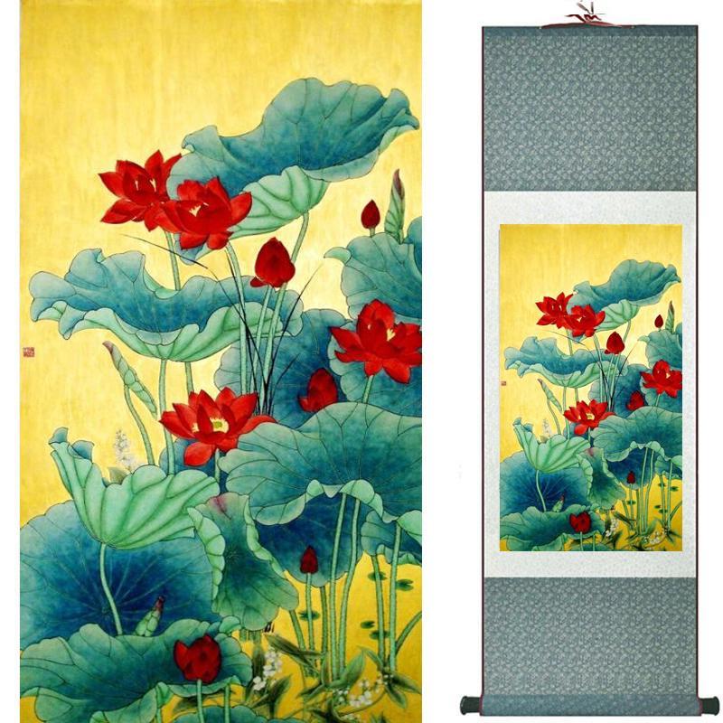 Gemälde von Vögeln und Blumen für die Dekoration des Family Office Living Room 19090410