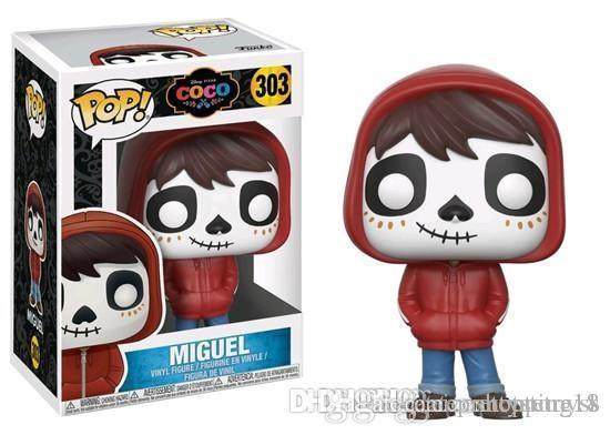 Pretty new arrival chrismas gift Funko Pop COCO Miguel Vinyl Action Figure With Box #201 Gift Toy Good Quality Free Shipping