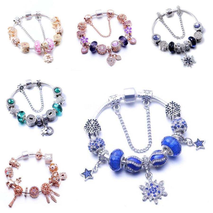 Fahmi 100% 925 Legierung 1: 1 Original Authentic 590537En23 Charm Armband Grund Geeignete DIY Perlen Frauen-Schmucksachen # 850