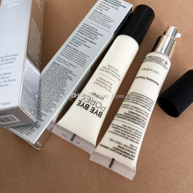 مع السلامة المسام Primer زيوت خالية من البشرة اللاسلكية Self-Perfecting Sirel Primer Makeup Foundation كريم Primer Water Primer 30ml Face Cosmetics free DHL