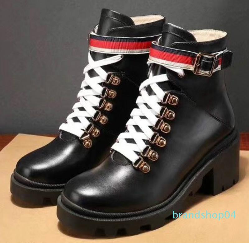 Мода кожа звезда женская обувь Женская кожа короткие осень зима лодыжки дизайнер модный бренд женская обувь v33