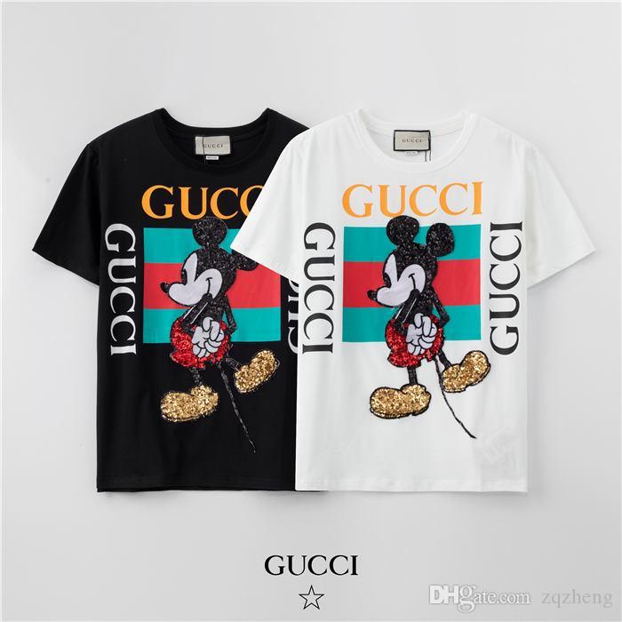 Herren Luxus-Designer-T-Shirt Frühlings-Baumwollmarken-T-Shirt Snake Bee Printed T-Shirt Hemd Schwarzweiß-asiatische Größe M-3XL ttt6 finden