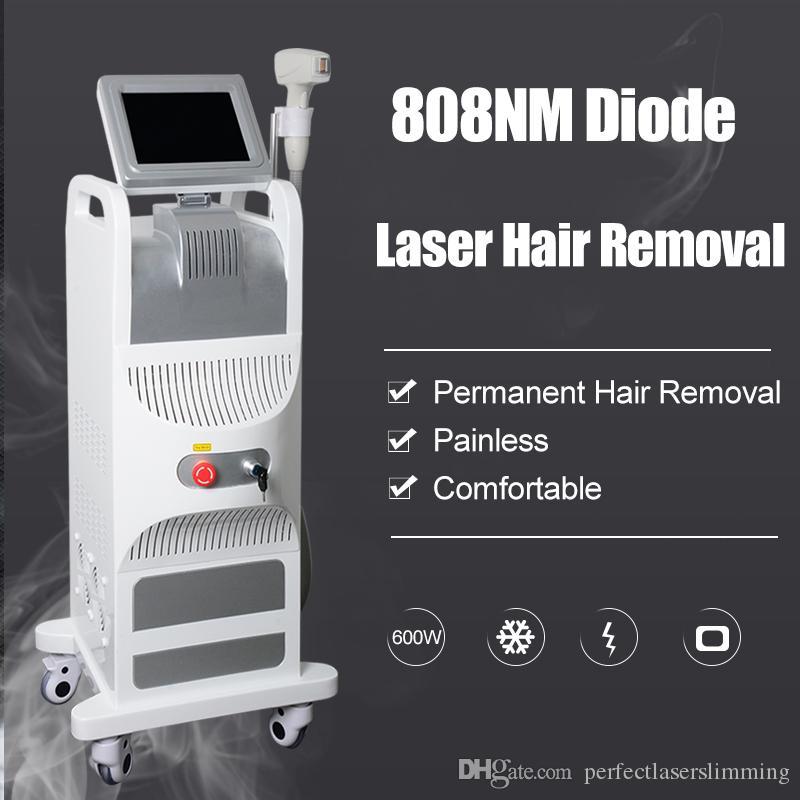 Meilleure diode 808nm machine épilation au laser pour les soins de la peau de l'épilation permanente au laser 808 nm systerm diode laser