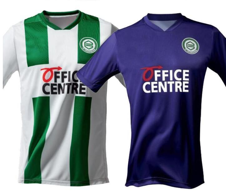 20 21 FC Groningen Soccer Jerseys Home Robben 2020 2021 Groningen Deyovaisio Zeefuik Daishawn Redan Football Camisetas Classic Shirts Kit