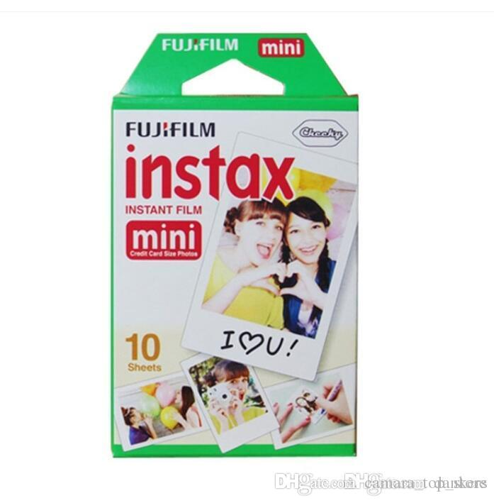 Photo Paper White Edge 3 inch wide film 20 Sheet box fujifilm instax mini 8 film 20 sheets for camera