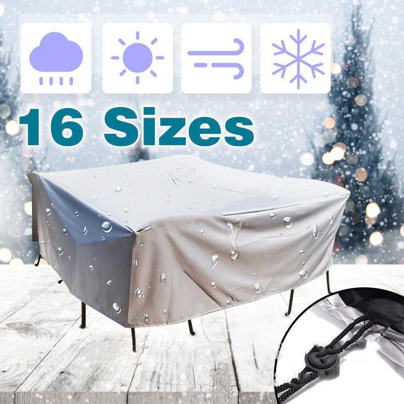 20Size Outdoor Waterproof Dust Proof Covers Furniture Sofa Chair Table Cover Garden Patio Protector Rain Snow Protect Covers T200117
