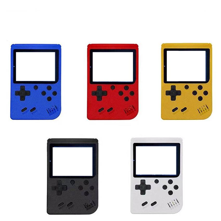 Mini Handheld video Game Console Portable Retro 8 Bit Model For FC 400in-1 Games AV Line Connect TV Show Color LCD Game Player for Kids Gift