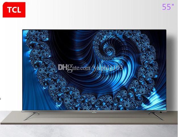 TCL da 55 pollici ultra sottile 4K Ultra HD 37-core voce su rete schermo intero AI HDR TV LED caldo di nuovi prodotti di trasporto libero