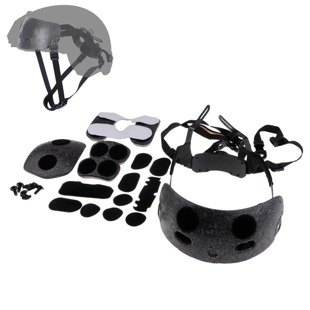 Casque Dial Liner Kit Drop-In remplacement Bandeau Pad pour casque FAST