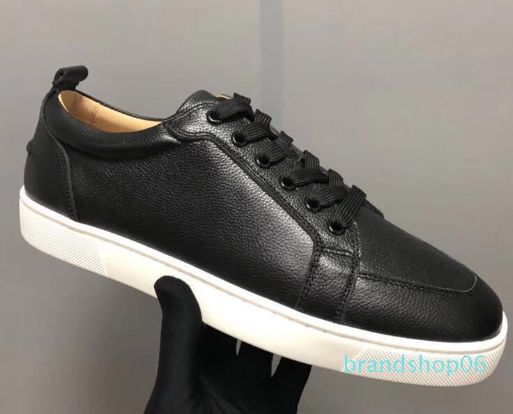 2019 Designer Spike-Socken-Männer Turnschuhe Red Runner Donna flache Gummischuhe der Frauen rote untere Spitze Luxus-Schuh-flache trainersd05