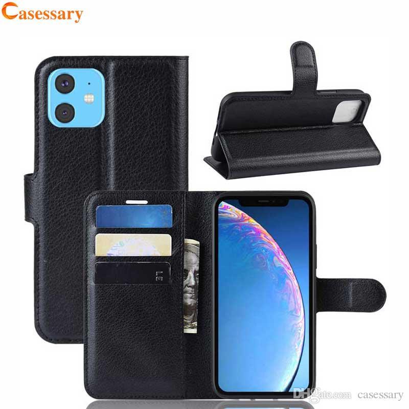 Carteira de luxo Caso Com Titular para o iPhone 12 Pro Max XR Samsung S10 Plus Nota 10 PLUS LG Stylo 5 Nokia 7.2