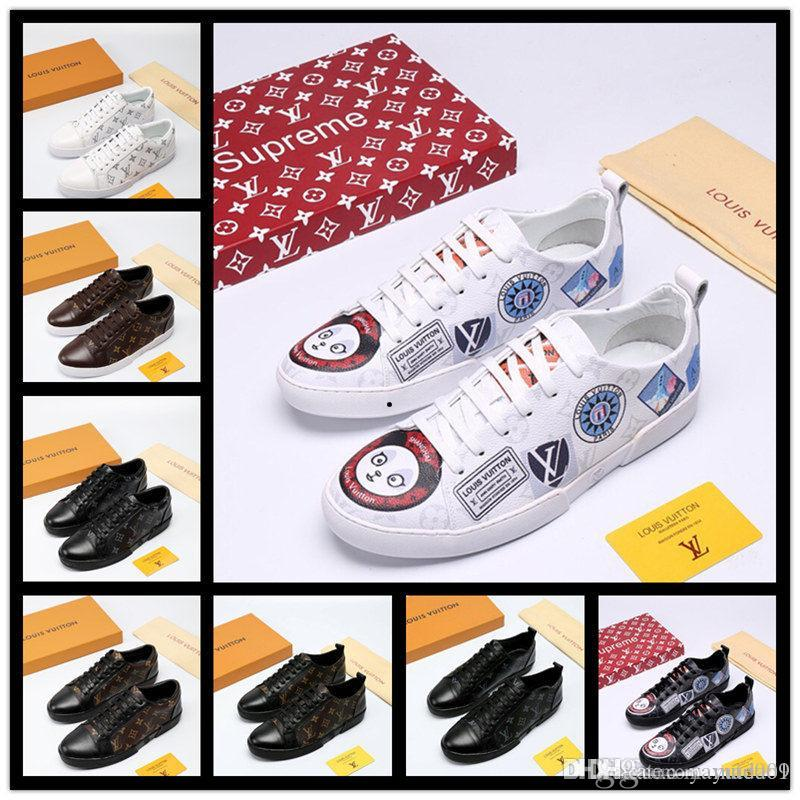 iduzi бренды дизайн кроссовки Красный Нижний низкий вырез Шипы квартиры обувь для мужчин женщин кожаные кроссовки Повседневная обувь с мешком для пыли