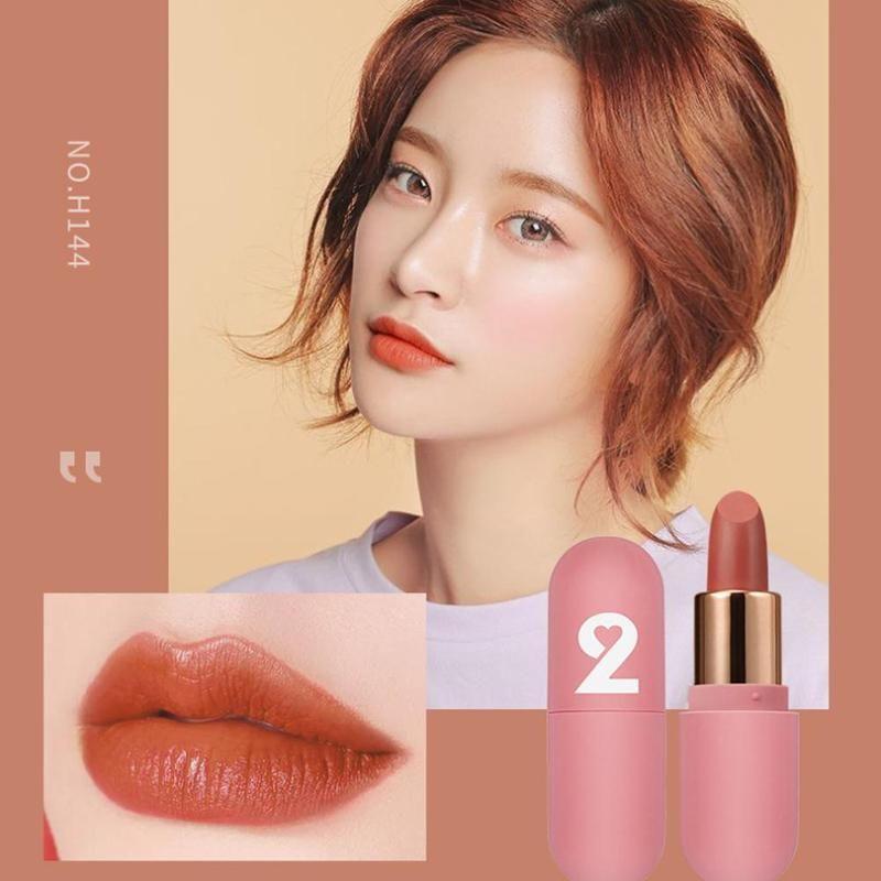 3Pcs Liquid Lip Gloss Set Mini Lip Glaze Velvet Moisturizing impermeabile antiaderente Coppa Long Lasting Lipgloss