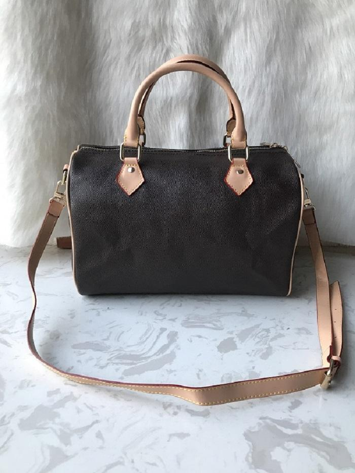 Bolsas de mensajero de las mujeres bolsas de moda estilo clásico bolsas de las mujeres bolsas de hombro bolsas de laduras bolsas de almohada de 35 cm con correa de hombro, bolsa de polvo
