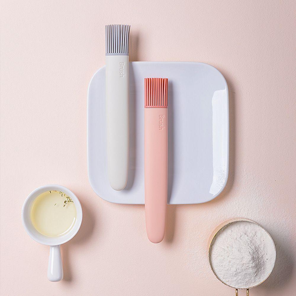 Superqualität Silikon Butter Bürste BBQ-Öl Bürsten Koch Gebäck Grill Speisen Brot Küchenpinsel Bakeware Küche Speise Werkzeug