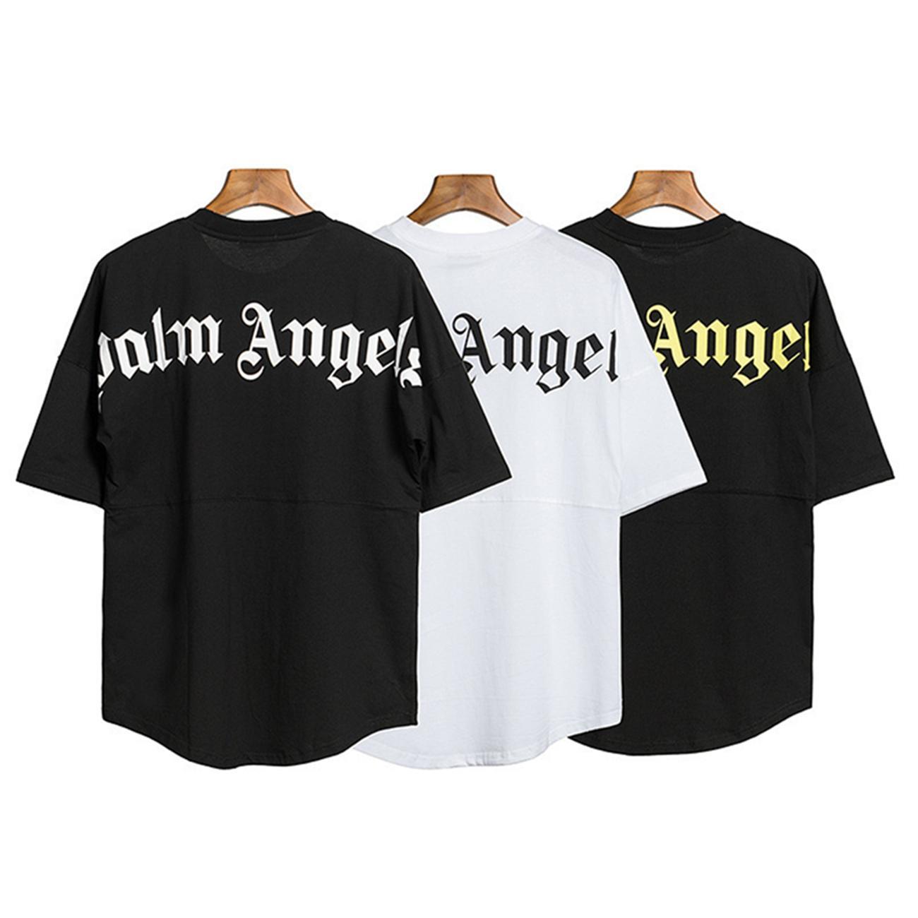 T-shirt Designer New Palm Homens Mulheres algodão de manga curta Verão Tops t shirt da forma Adesivo Laptop Camiseta 1 Opp saco