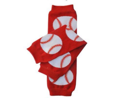 البيسبول الجوارب الطفل كرة القدم كرة القدم كرة القدم تدفئة الساق الرضع يغطي الرجل الجوارب دفئا أطفال طويلة الجوارب GGA2692