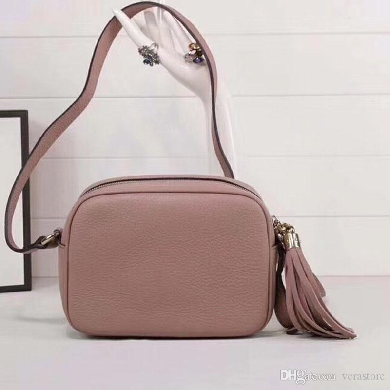 VeraStore الشرابة جلدية فاخرة حقائب نسائية حقائب الكتف مصمم حقيبة عالية الجودة للمرأة الماركات الشهيرة أنثى