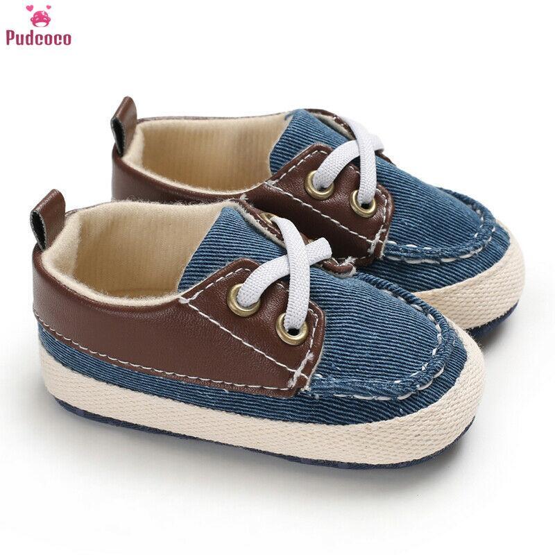 Summer Infant bebé recién nacido niña zapatilla de deporte suavemente único algodón anti-deslizamiento Calzado primeros caminante Zapatos de Prewalker de lona 0-18m