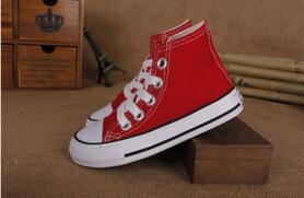 2020 neue Markenkind-Segeltuchschuhe Art und Weise hoch - niedrig Schuhe Jungen- und Mädchensportsegeltuchschuhe