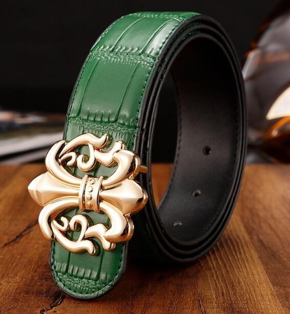 Высококачественный кожаный ремень, гладкая металлическая пряжка ремня для мужчин и женщин, европейского и американского дизайна моды мужские пояса, популярные джинсы 209