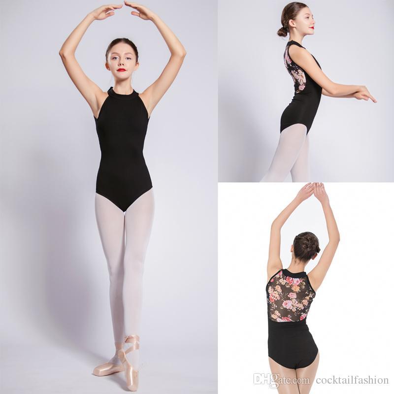 Adult Women Girl Ballet Leotard Tutu Skirt High Low Cut out Dance Dress Costume