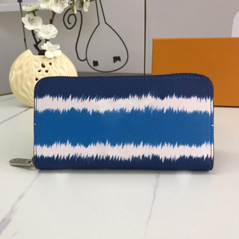 Novo clássico de impressão senhoras de flores carteira Dazzle cor Zipper saco de moedas bolsas bolsas mulheres órgão intercalar cartão saco de embreagem titular
