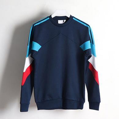 Jogger Üst Toptan B101171L Running 2019 Oturum   Erkek Marka Sweatshirt Tasarımcı Hoodie Çizgili Patchwork Uzun Kollu Kazak Casual Bluz